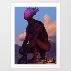 Silent Colossus Art Print