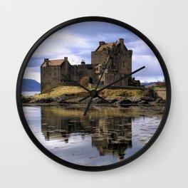 Eilean Donan Castle Scotland Wall Clock