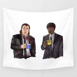 Pulp Fiction - Jimmy's Coffee Wall Tapestry