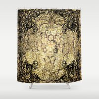 decorative Shower Curtains featuring Decorative pattern by nicky2342