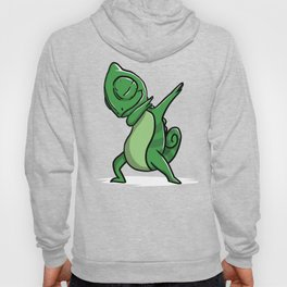 Funny Dabbing Chameleon Reptile Pet Dab Dance Hoody