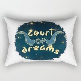 Court of Dreams Rectangular Pillow
