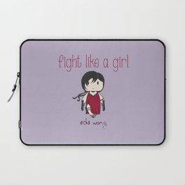 Fight Like a Girl 32 - Ada Wong Laptop Sleeve