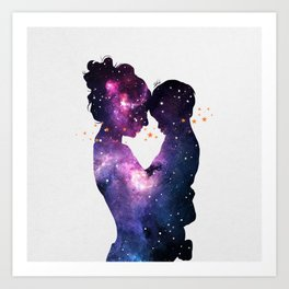 The first love. Art Print