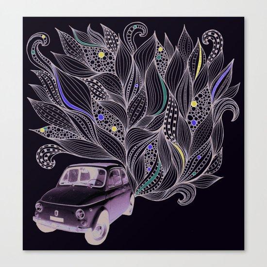 Toot Canvas Print
