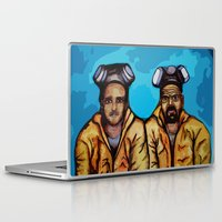 jesse pinkman Laptop & iPad Skins featuring Breaking Bad (Walter White Heisenberg jesse pinkman) by EllipsisArts
