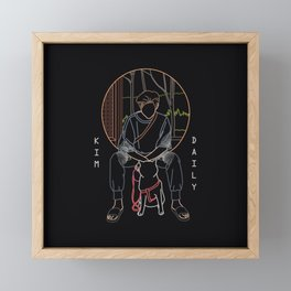 RM DAILY Framed Mini Art Print