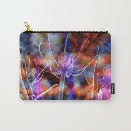 Floral Cloud Spectacle Carry-All Pouch