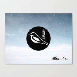 Flugsnappare Canvas Print