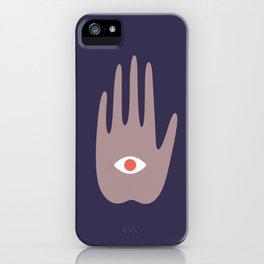 hamsa IV iPhone Case