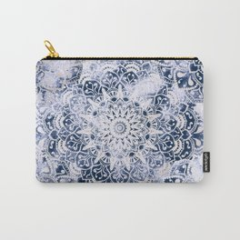 MANDALA WONDERLAND IN BLUE Carry-All Pouch