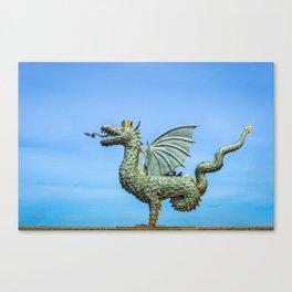 Dragon Zilant Canvas Print