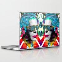 karl Laptop & iPad Skins featuring karl by DIVIDUS