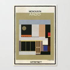 Nicholson+aalto Canvas Print