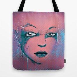 Rusted Girl rose Tote Bag