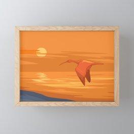 Nile Evening Framed Mini Art Print