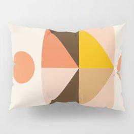 Abstraction_Sunrise_Triangles_Minimalism_001 Pillow Sham