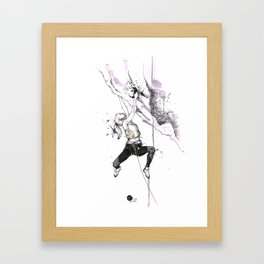 Lozen Girl Framed Art Print