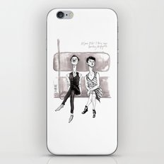 F-Train Snobs by Kat Mills iPhone & iPod Skin