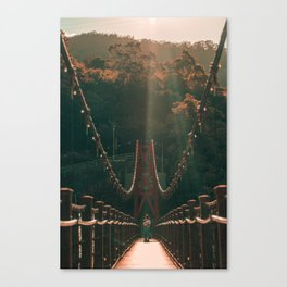 Taiwan bridge Canvas Print