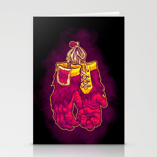 GORILLA GLOVES Stationery Cards