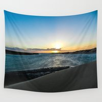dune Wall Tapestries featuring Dune Sunset by Mangaba