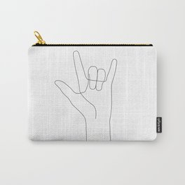 Love Hand Gesture Carry-All Pouch