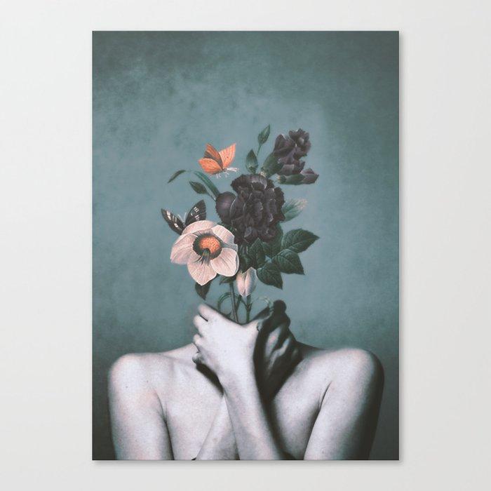 inner garden 3 Canvas Print
