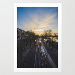London city view Art Print