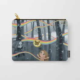 I Follow Rainbows Carry-All Pouch