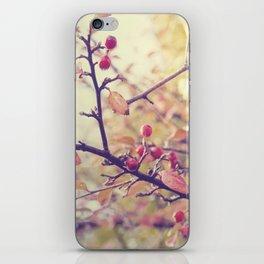Berry Christmas iPhone Skin