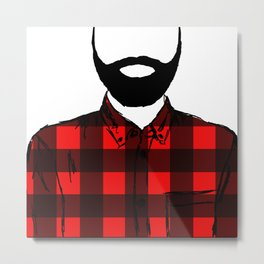 Lumber, Jack Metal Print