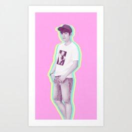 pastel Baekhyun Art Print