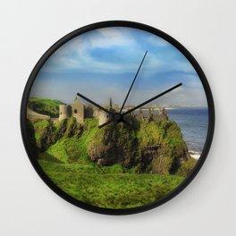 Autumn at Dunluce Wall Clock