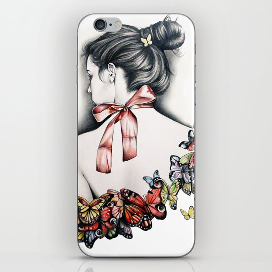 L'effet papillon iPhone & iPod Skin