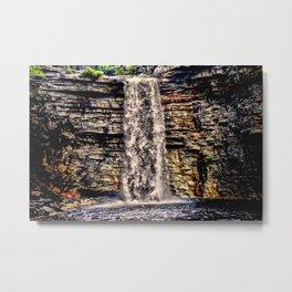 Mesmerizing Waterfalls! Metal Print