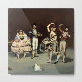 "Édouard Manet ""Spanish Ballet"" Metal Print"