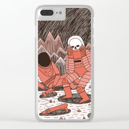 Death in Space Clear iPhone Case