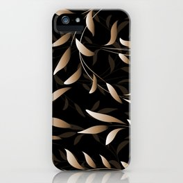 Art Deco Willow iPhone Case