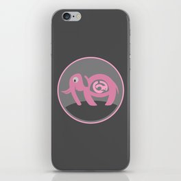 Pregnant Elephant iPhone Skin