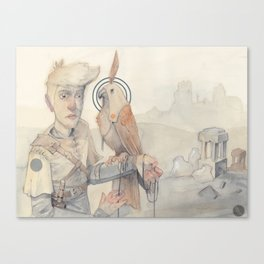 Jorah & The Falcon Canvas Print
