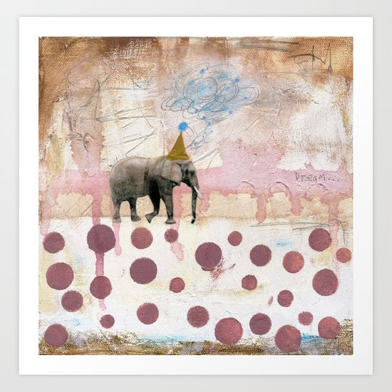 Moving Towards Your Dream Art Print