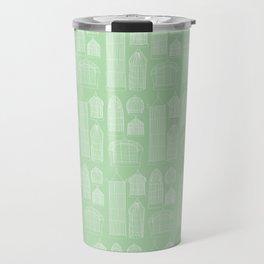 Birdcages (Green) Travel Mug