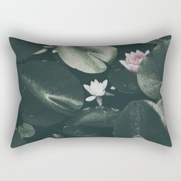 Nymphaea Alba Rectangular Pillow