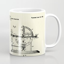 Stellar Compass and Great Circle Course Projector-1902 Coffee Mug