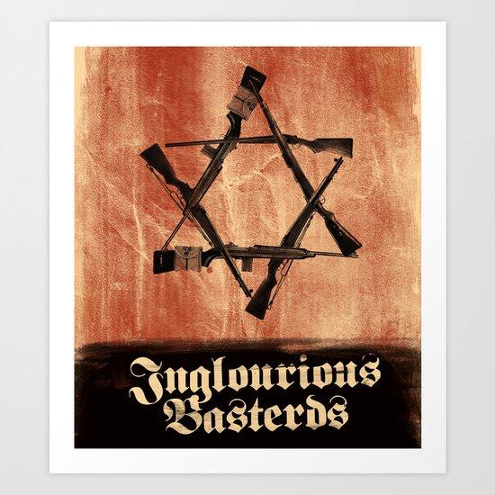 Inglourious Basterds - Movie Poster Art Print