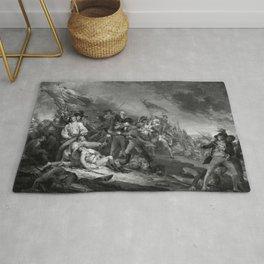 The Battle of Bunker Hill Rug