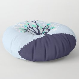 Bloomy Floor Pillow