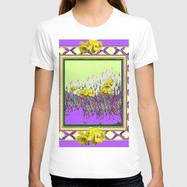 PANTENE ULTRA VIOLET PURPLE DAFFODIL GARDEN DECORATIVE ART T-shirt