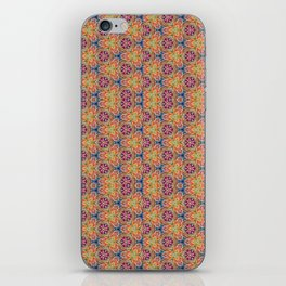 hippie - pattern colorfull iPhone Skin
